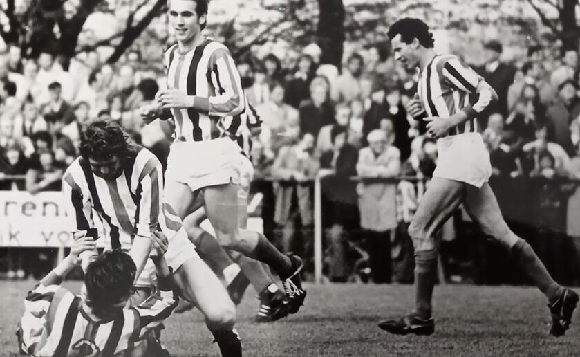 ODC tijdens een wedstrijd in het topseizoen 1971- 1972. (Foto: archief ODC).