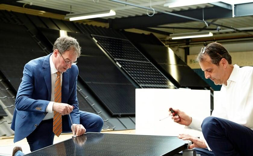 <p>Burgemeester Ronald van Meygaarden van de gemeente Boxtel opende vorige week het experiencecenter van Freenergics. (Foto: eigen collectie)</p>