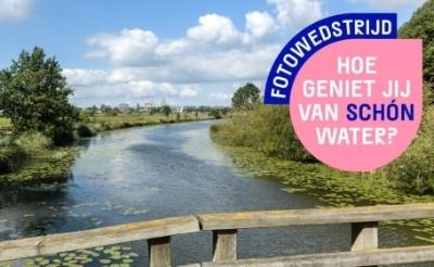 Deelnemers aan de fotowedstrijd van waterschap De Dommel maken kans op een vaartocht voor acht personen.