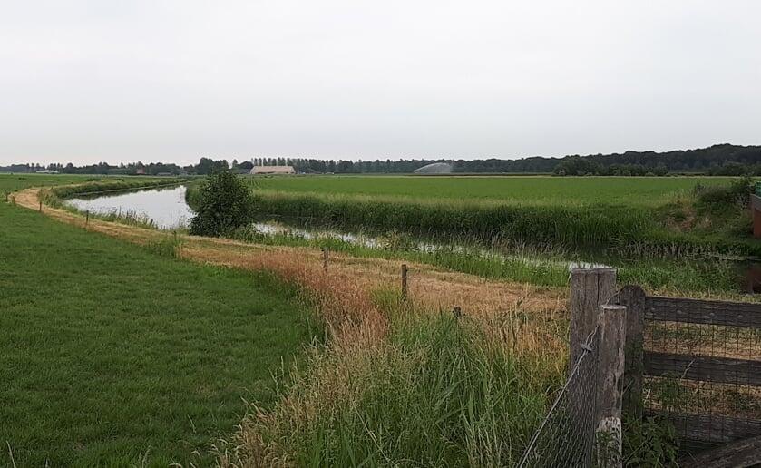 <p>Panorama van de Essche Stroom ter hoogte van de Belversedijk richting Bruggelaar. Er gaat veel veranderen aan de rivier de komende jaren. Foto: Waterschap De Dommel.</p>