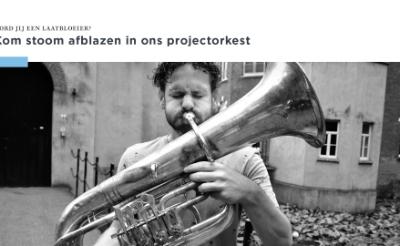 <p>Met haar nieuwe projectorkest Laatbloeiers wil Boxtel&#39;s Harmonie volwassenen de gelegenheid bieden alsnog een blaasinstrument te leren bespelen.</p>