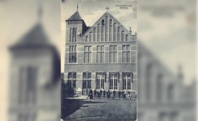 In de bibliotheek is vanaf 1 oktober een expositie ingericht over de geschiedenis van het pand aan de Burgakker 4. (Foto: Beeldbank Boxtel).