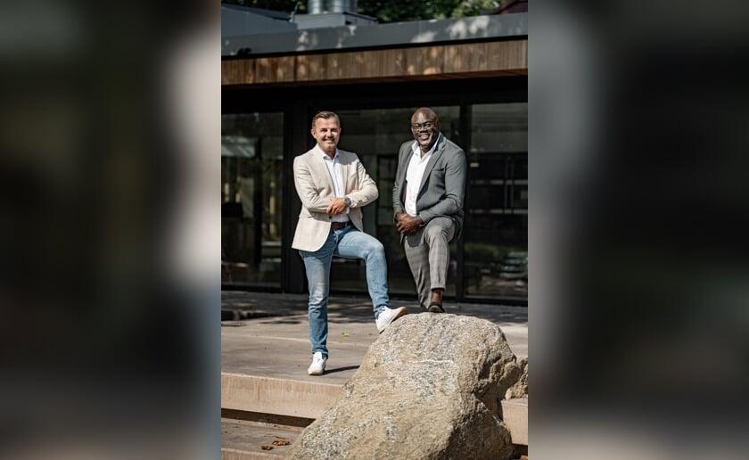 <p>De Boxtelse ondernemer Patrick van Loosbroek (links) en Romeo Hoogdorp die Lseven gaat leiden. (Foto: Bluemonque Creatives, Peter Hermeling).</p>