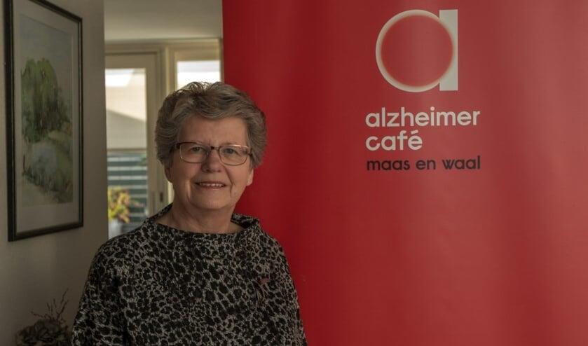 Jessie Reulen, coördinator van Alzheimer Café Maas en Waal.