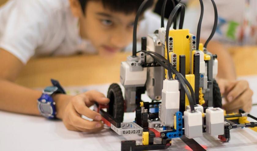 Het Tech-Lokaal deed eerder mee aan de World Robot Olympiad.