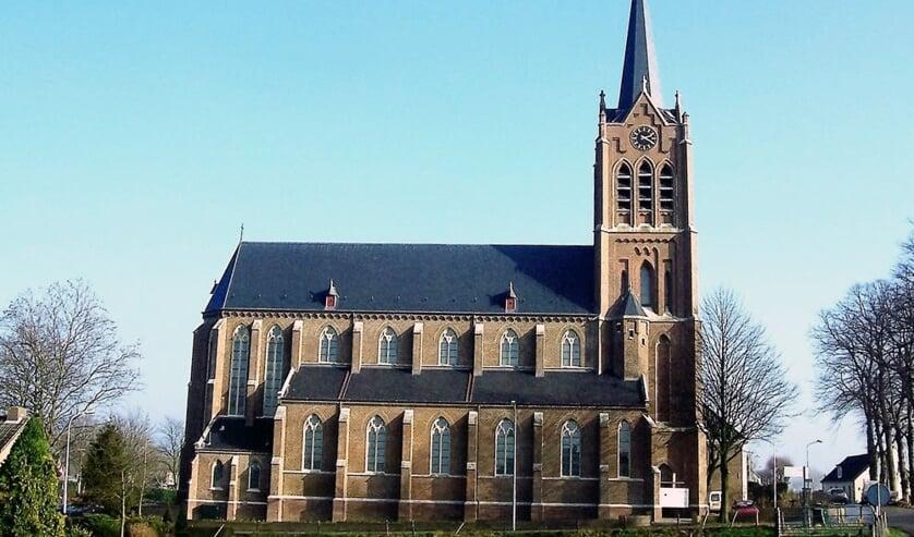 Kerk in Maasbommel.