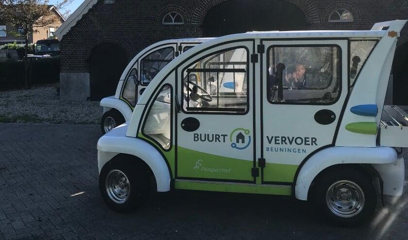 <p>Elektrische auto Buurt Vervoer.</p>