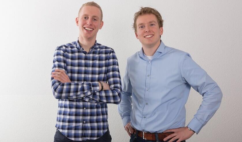 Swen Wigmans en Bart van Kraaij.