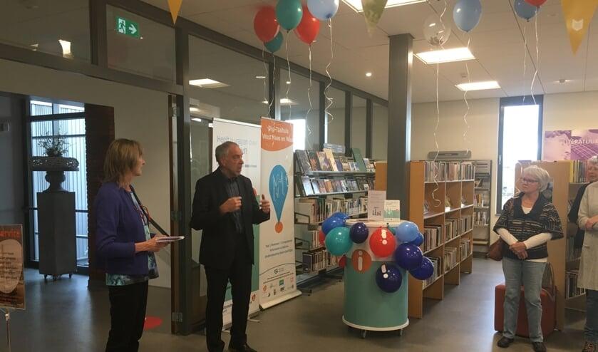 <p>Wethouder Bert van Swam verrichte de openingshandeling.</p>