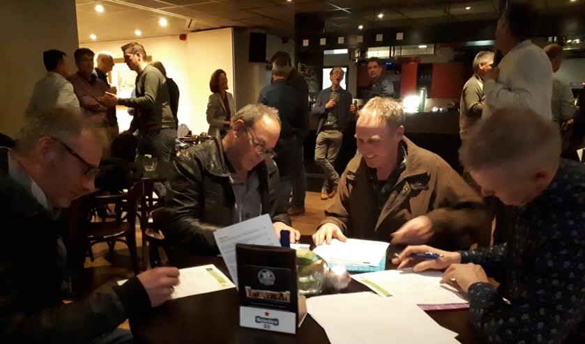 De bijeenkomst van Gebiedscoöperatie Druten en West Maas en Waal.
