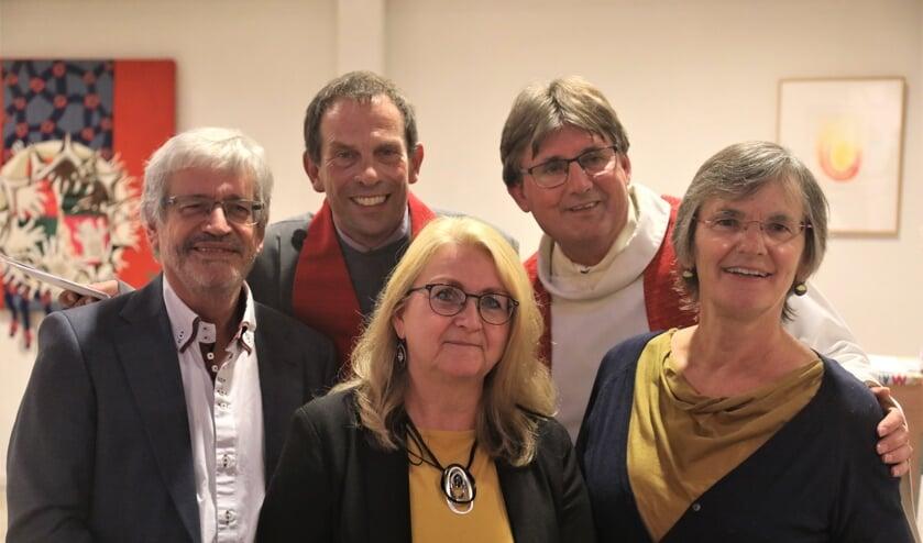 Nieuw pastoraal team Protestantse Gemeente Rivierenland Oost.