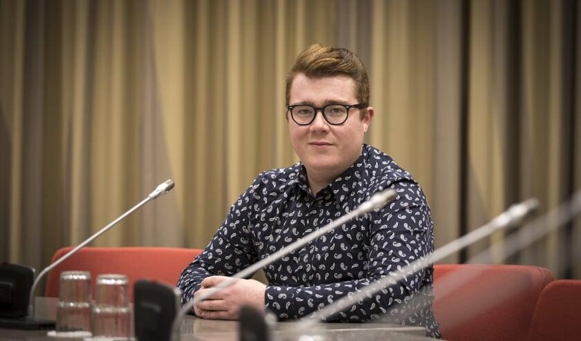 Ricardo Brouwer, initiatiefnemer van de Roze Dag in Beuningen.
