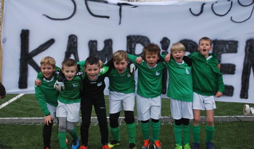 Guus, Tijme, Joes, Nick, Tijl, Tobias en Steef.