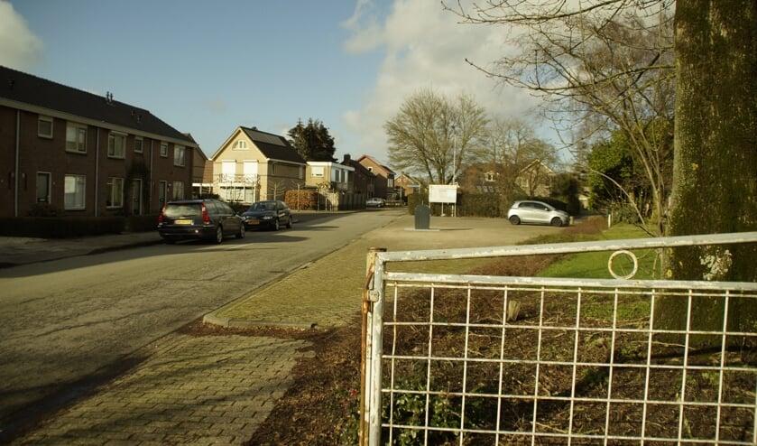 Openbaar groen tussen de Florastraat en de Kortestaat in Boven-Leeuwen.