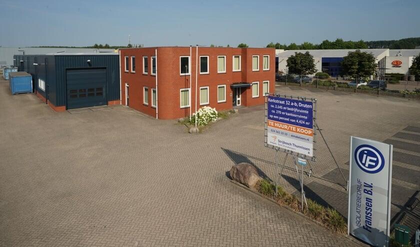 Het nieuwe pand van Kuypers Zorg en Vastgoed aan de Kerkstraat in Druten.