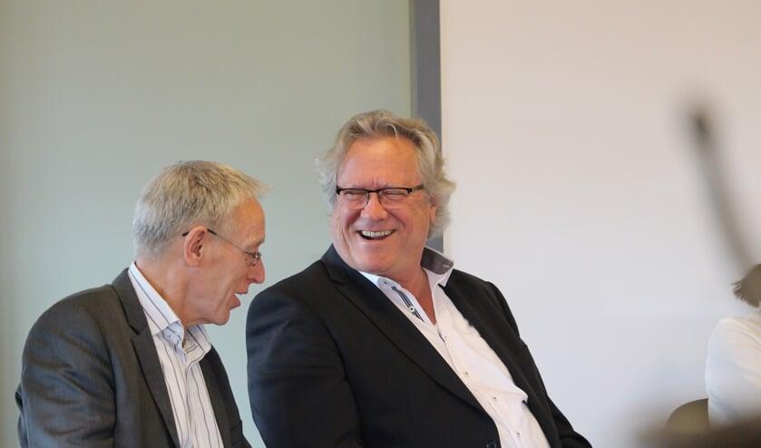 Michel Lepoutre en André Springveld.
