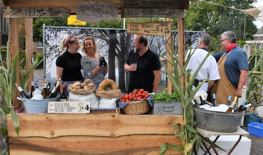 Een indruk van het Foodfestival in 2018.
