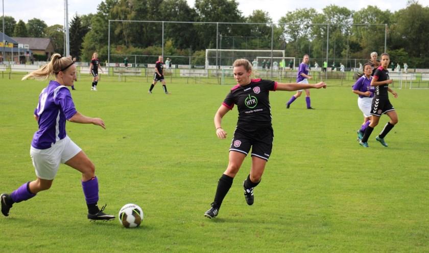 Bekerwedstrijd tussen AAC-Olympia/Victoria'25 VR2 en FC Maas enWaal.