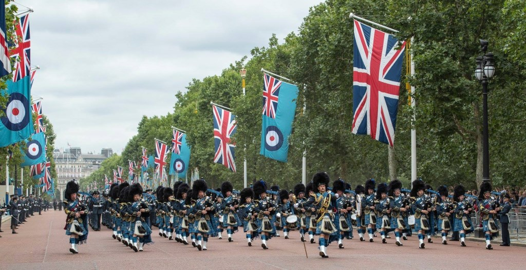 Foto: The Royal Air Force Waddington Pipes and Drums © DeMaasenWaler