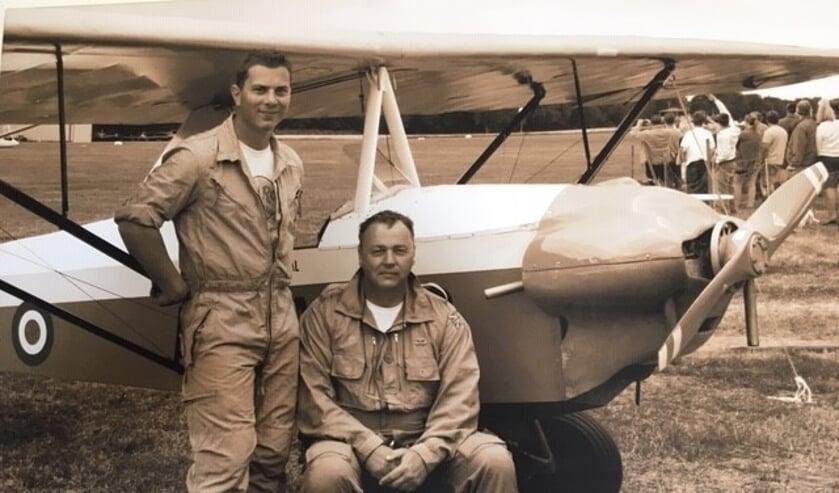 Van links naar rechts: Jim van Aalst en Bob van Aalst.