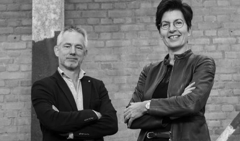 Erik van Ophoven en Gea van Beuningen.