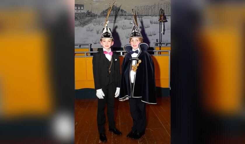Jeugdprins Sam en zijn Adjudant Yordy