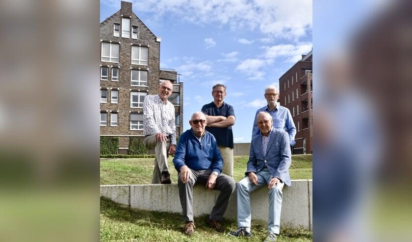 <p>De werkgroep bestaande uit (v.l.n.r.): Ruud, Gerrit, Gerard, Sjaak en Will.</p>