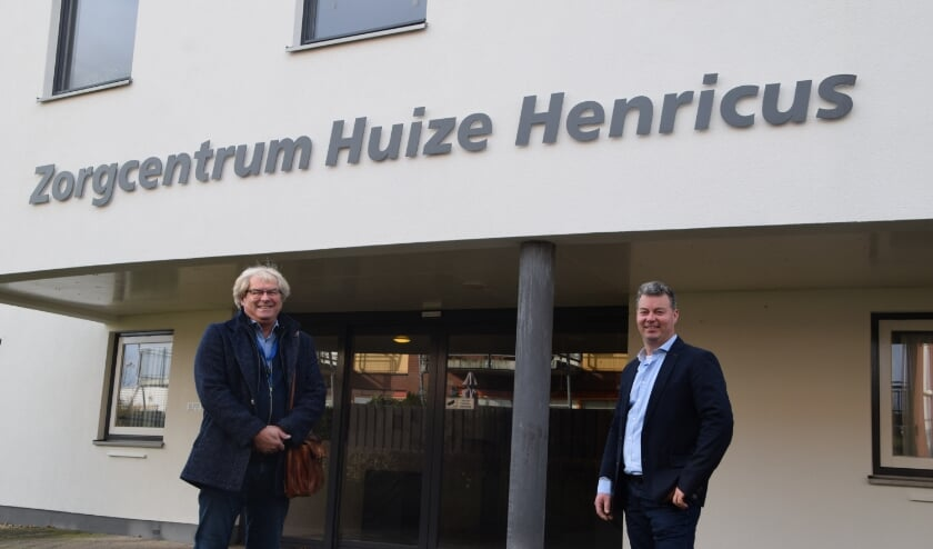 <p>Jan van der Linden en Frans van Echteld.</p>