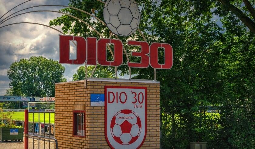 <p>Entree voetbalclub Dio&#39;30</p>