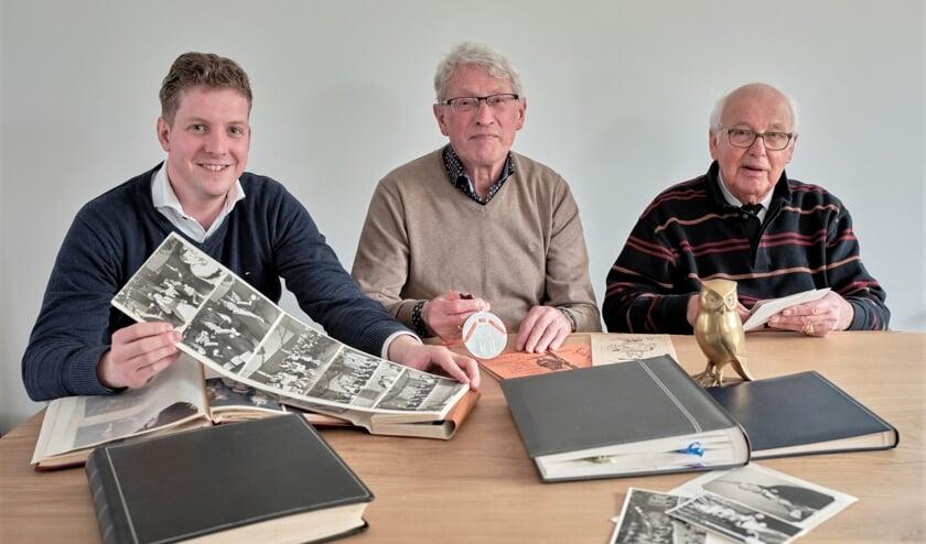 Ruben Schiks, Geert Donkers en Arnold Tijnagel.
