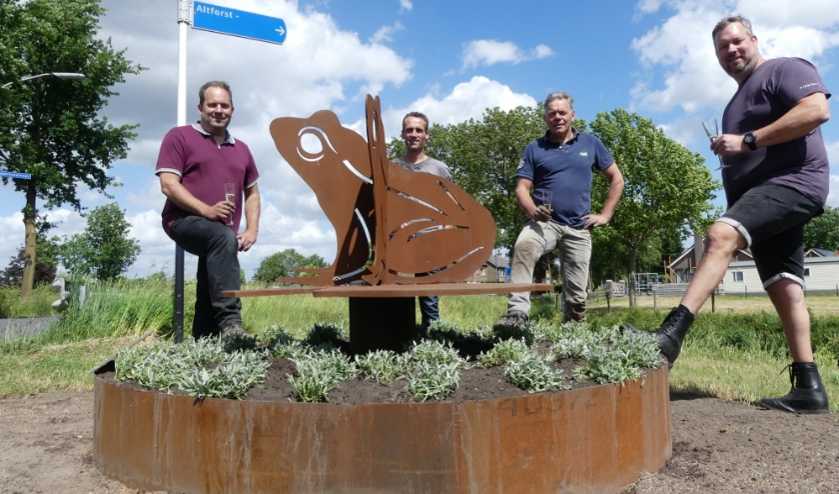 Wilfred Soetekouw, Roy van Ooijen, Mari Banken en Maurice de Vaan.