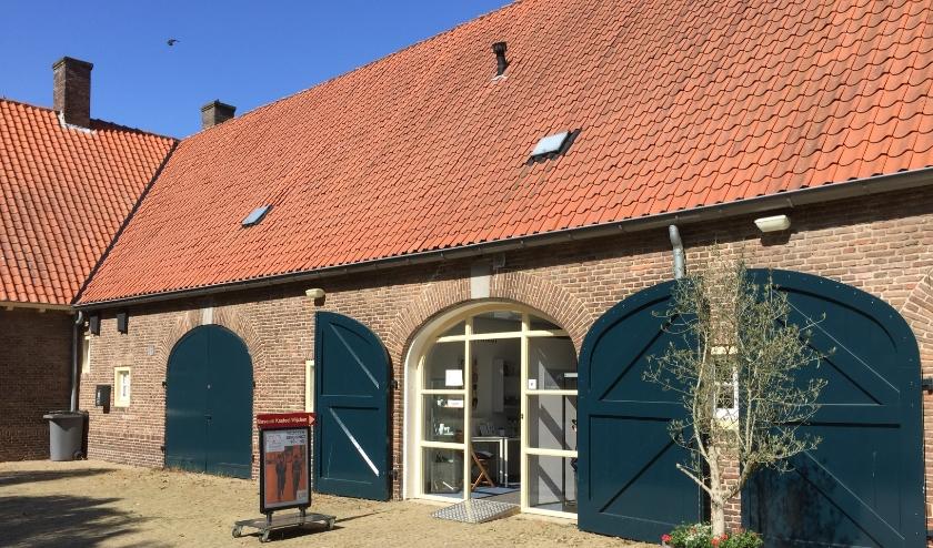 Het Koetshuis is de tijdelijke locatie van Museum Kasteel Wijchen.