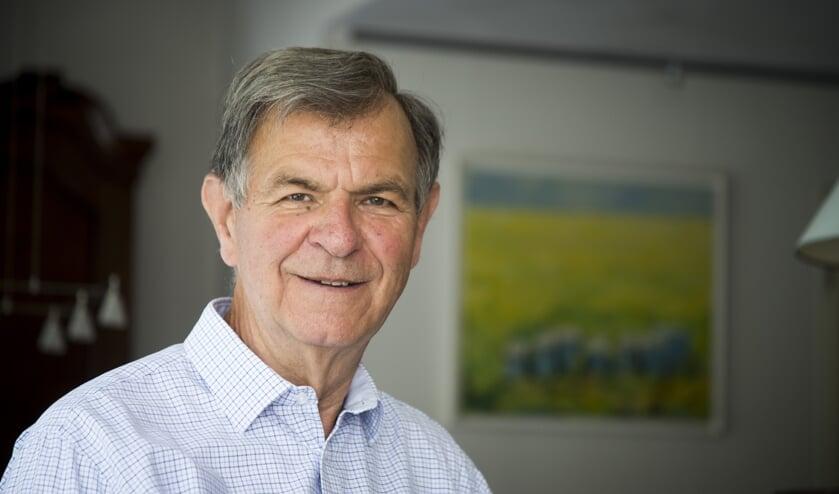 Oud-burgemeester Huib Zijlmans.