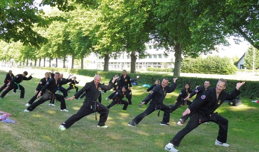 buitentraining Shaolin Kempo Banteng