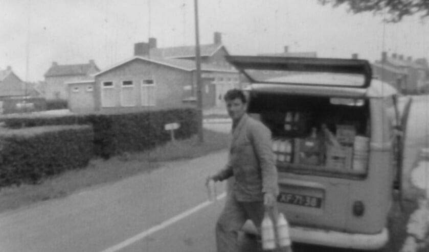 Still uit dorpsfilm uit 1968 over Alphen