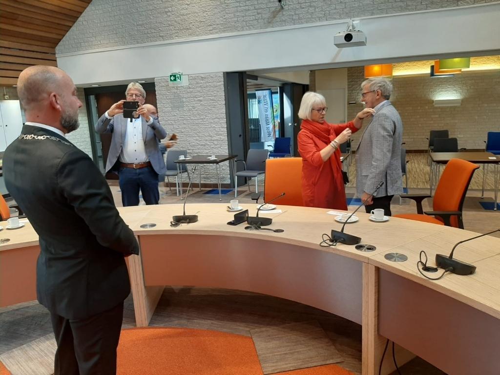 De heer Gé van Hees Foto: Gemeente West Maas en Waal. © DeMaasenWaler