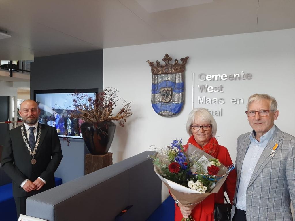 De heer Gé van Hees Foto: Gemeente West Maas en Waal  © DeMaasenWaler