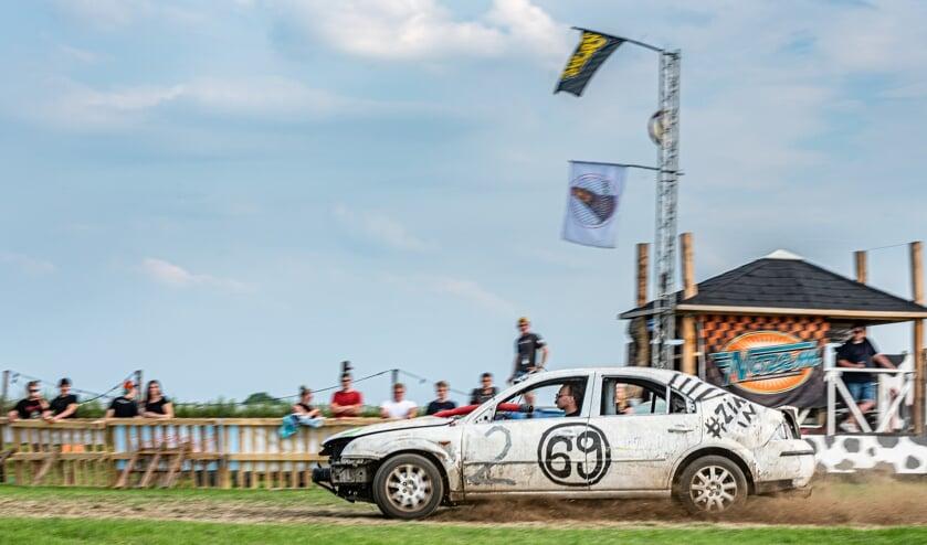Dit racemonster was afgelopen weekend van de partij in Beneden-Leeuwen.