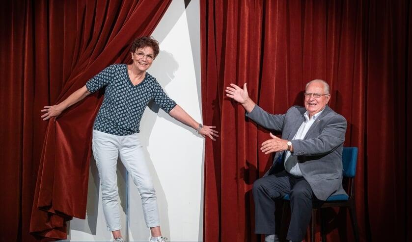 <p>Corrie van Wijk en Hennie Verbruggen.</p>