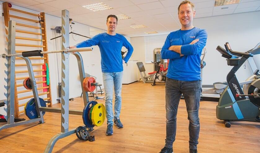 <p>Walter de Swart en John de Leeuw. Foto: John van Gelder.</p>