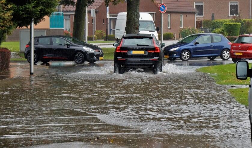 Wateroverlast Parkweg Druten