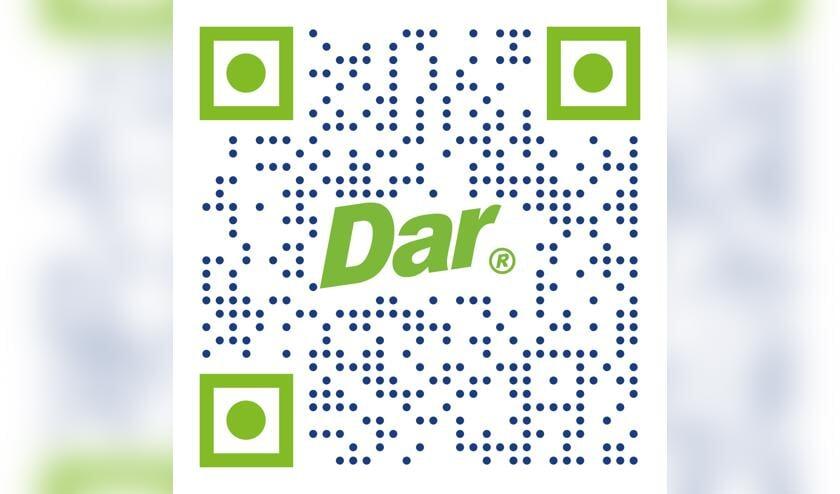<p>De QR-code van de Dar-app.</p>