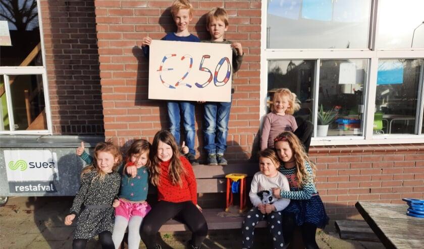 Kinderen BSO halen geld op voor KiKa