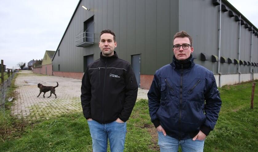 <p>Gert-Jan van Beek (links) en zijn bedrijfsleider Thom ter Haar.</p>