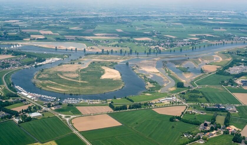 <p>De Maas, een levende rivier.</p>