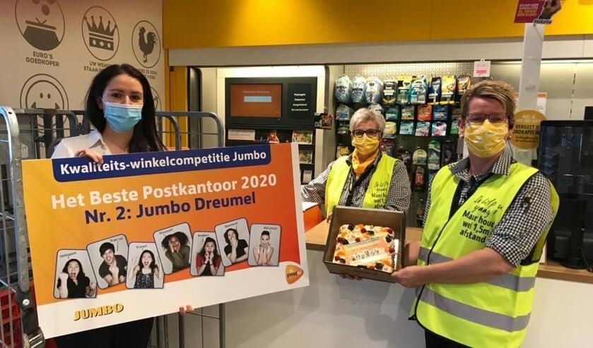 <p>Jumbo Dreumel tweede bij PostNL kwaliteitswinkelcompetitie</p>