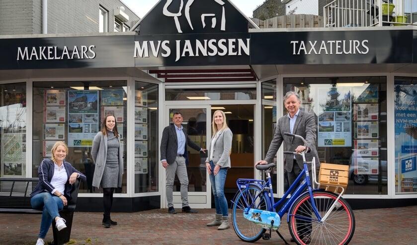 <p>Het team van MVS Janssen Makelaars.</p>