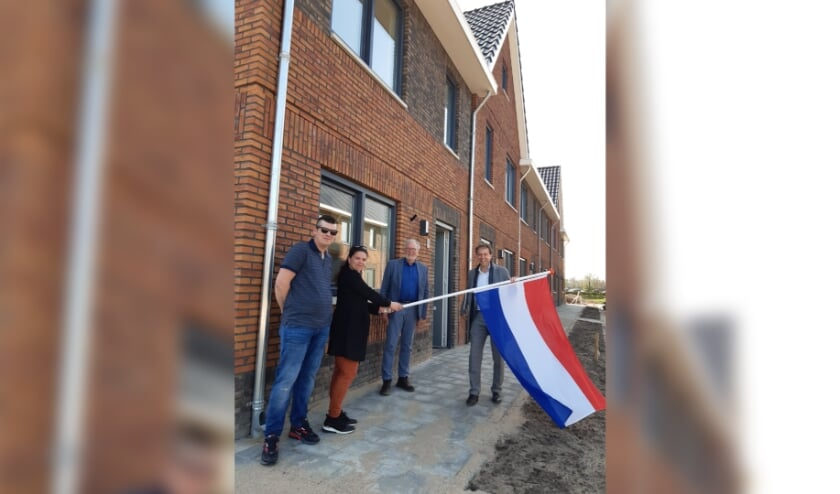 De vlag kan uit in Ewijk