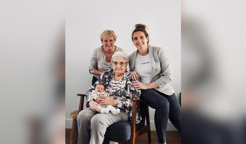 vier generaties, Fam. van den Heuvel