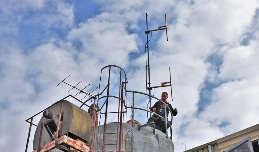 Vervangen oude antenne Extra FM